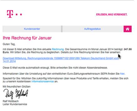 Malware Welle – Januar 2014